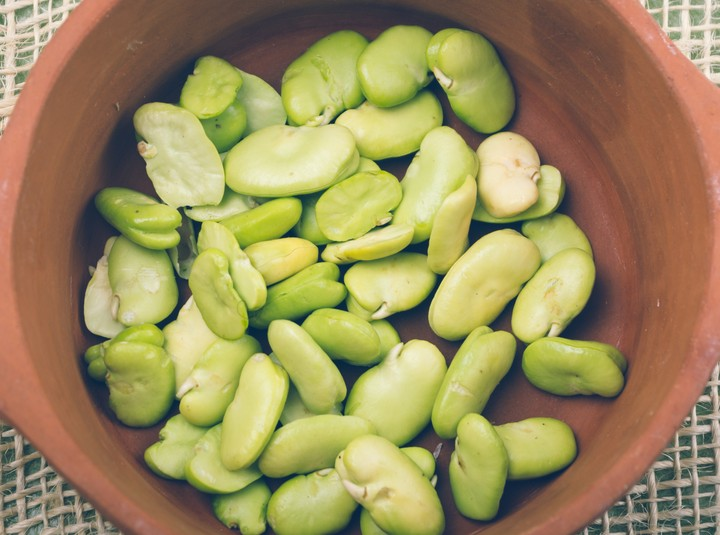 Lima Beans are a great source of iron