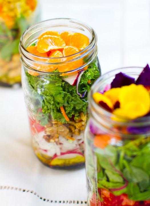 great mason jar salad recipe