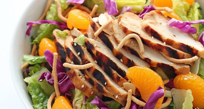 Asian Chicken Salad healthy dinner recipe