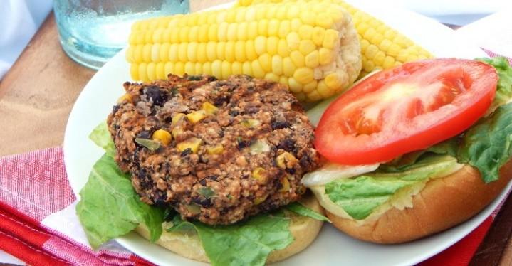 Cilantro Lime Black Bean Burgers - Healthy Dinner Recipes