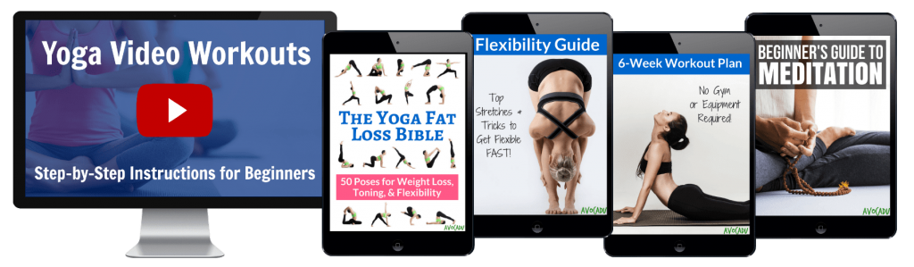 yoga fat loss bible video bundle by avocadu
