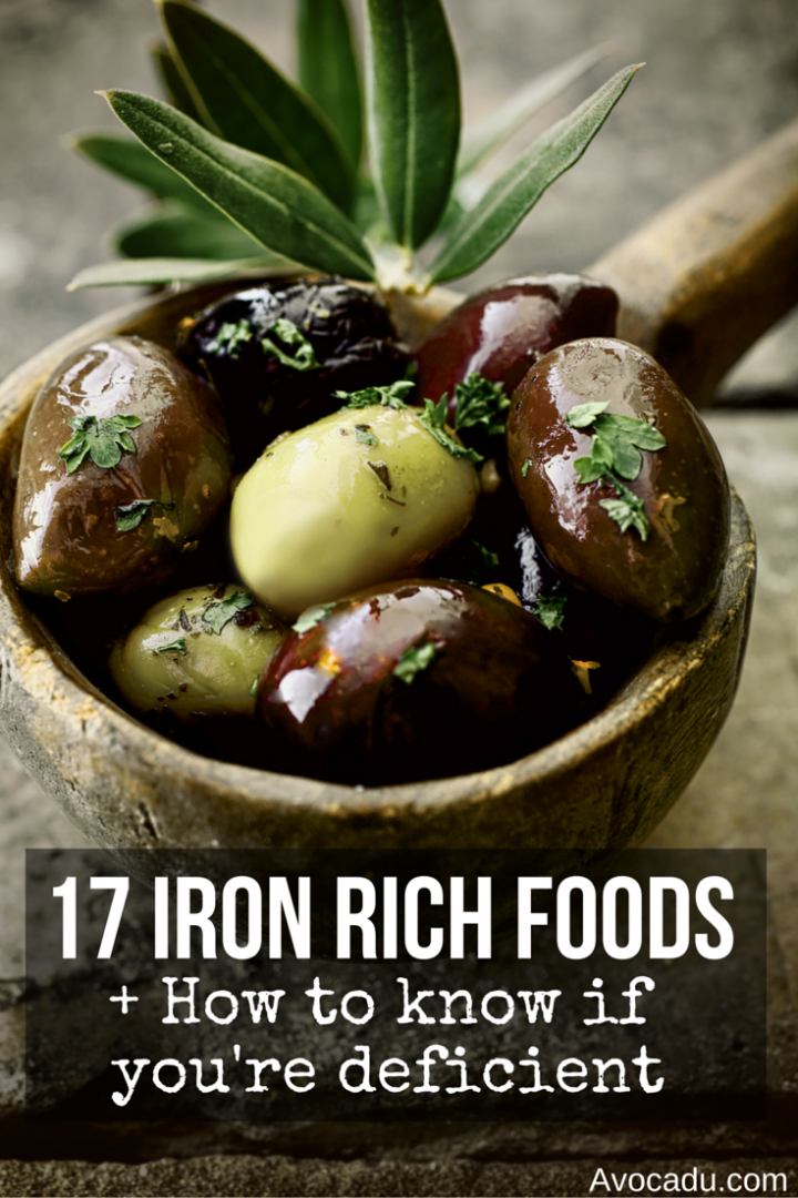 17 Iron Rich Foods + How To Know If You're Deficient | Avocadu.com