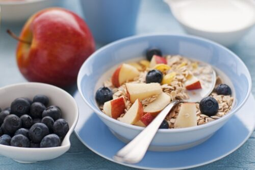 build a healthy habit by starting with a healthy breakfast