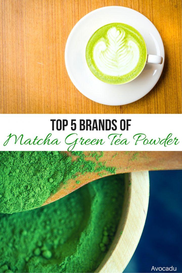 Top 5 Brand of Matcha Green Tea Powder   Avocadu.com