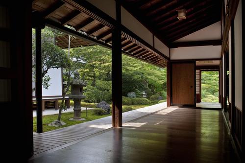 Meditation room design in nature