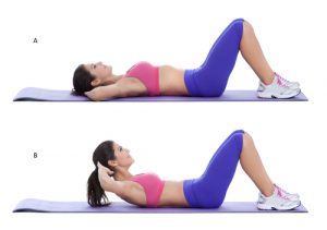 crunches can help you lose belly fat fast