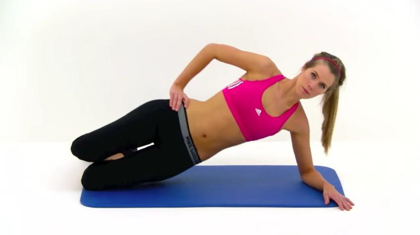 Pilates Side Hip Raises