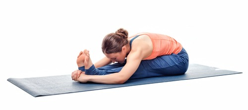 Seated Forward Bend (Paschimothanasana) for help sleeping