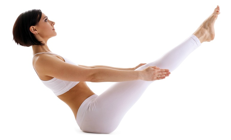 Boat Posture - Navasana is one of the best yoga poses for weight loss