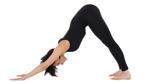 downward facing dog is a great yoga pose for hamstring flexibility