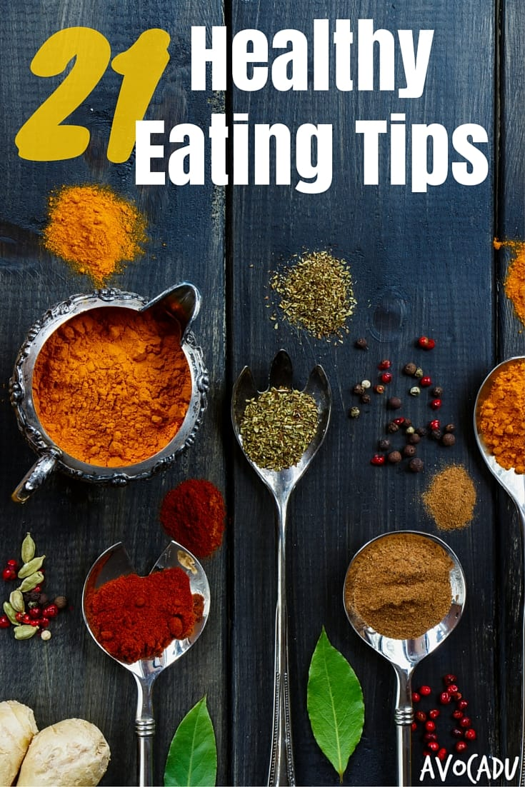 Healthy eating tips to lose weight | Avocadu.com