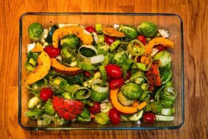 roasted veggies healthy eating tip