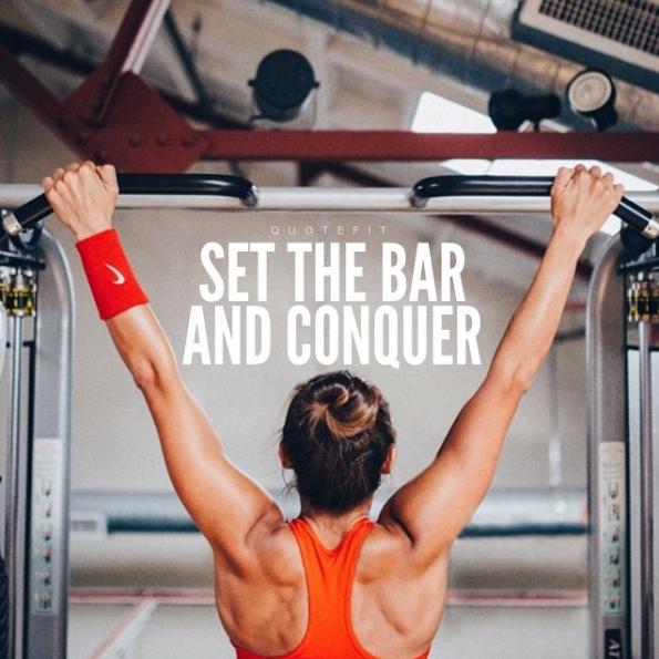 raise the bar motivation for fitness