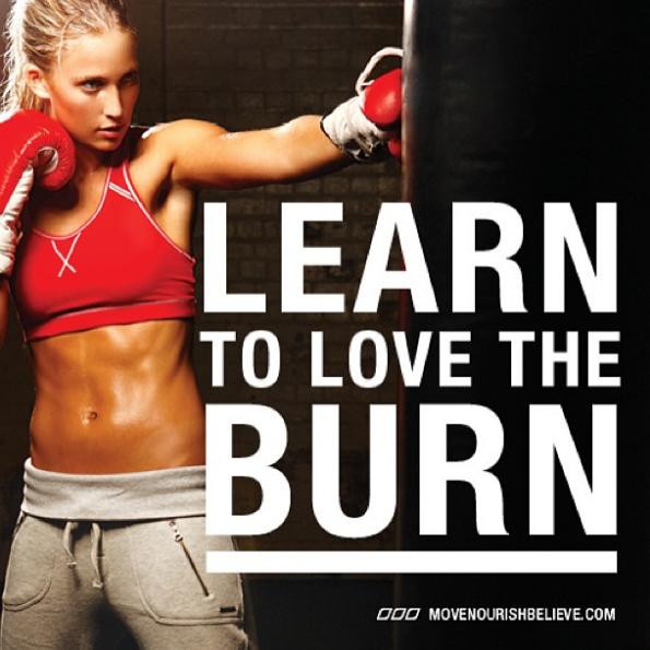 burn fitness motivation