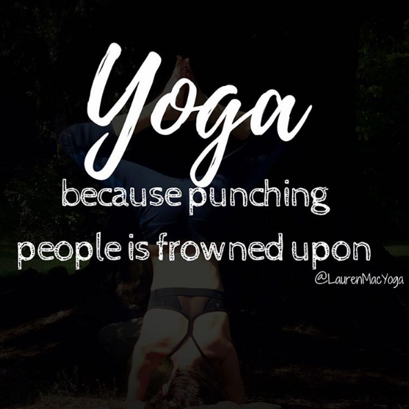 fitness motivational quote for yoga