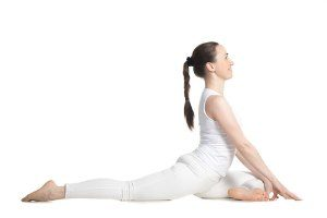 pigeon pose for flexibility