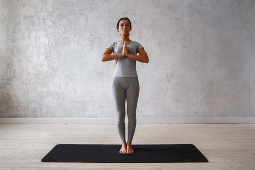 mountain yoga pose for beginners