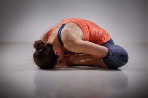 bound angle yoga pose for beginners