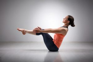 boat #10 of the yoga poses for beginners