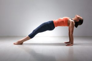 reverse plank one of the yoga poses for beginners