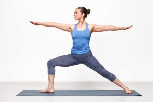 Warrior II Beginner Yoga Pose