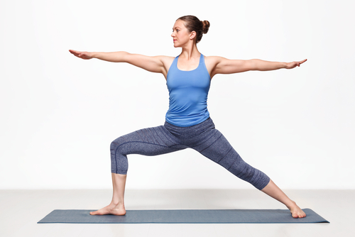 Warrior II Beginner Yoga Pose