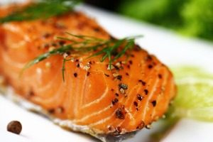 healthy salmon to lose weight