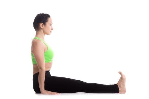 staff posture yoga