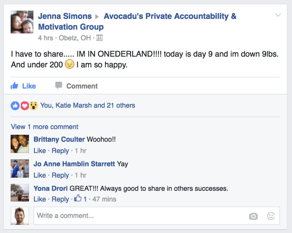 Jenna Weight Loss Testimonial