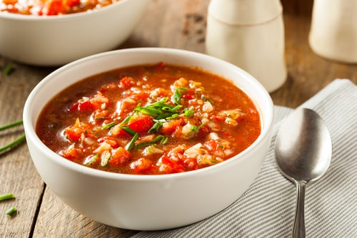 gazpacho healthy soup