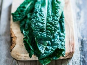 dark leafy greens are great to juice for vibrant skin