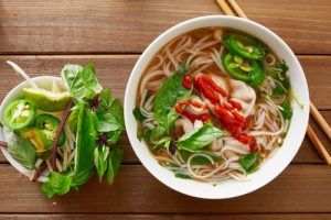 noodle soup with bone broth for weight loss