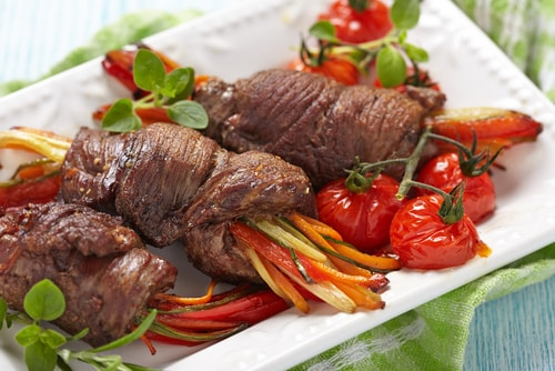 steak rolls dinner recipe that is sugar-free and flour-free