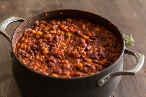 chili crock pot recipe for weight loss