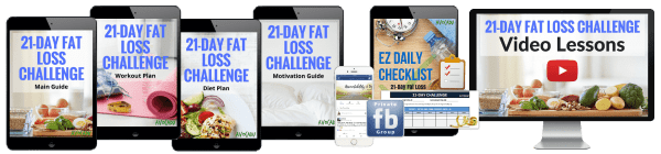 21-Day Fat Loss Challenge by Avocadu