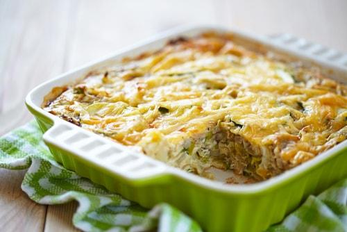turkey egg casserole healthy go-to breakfast recipe
