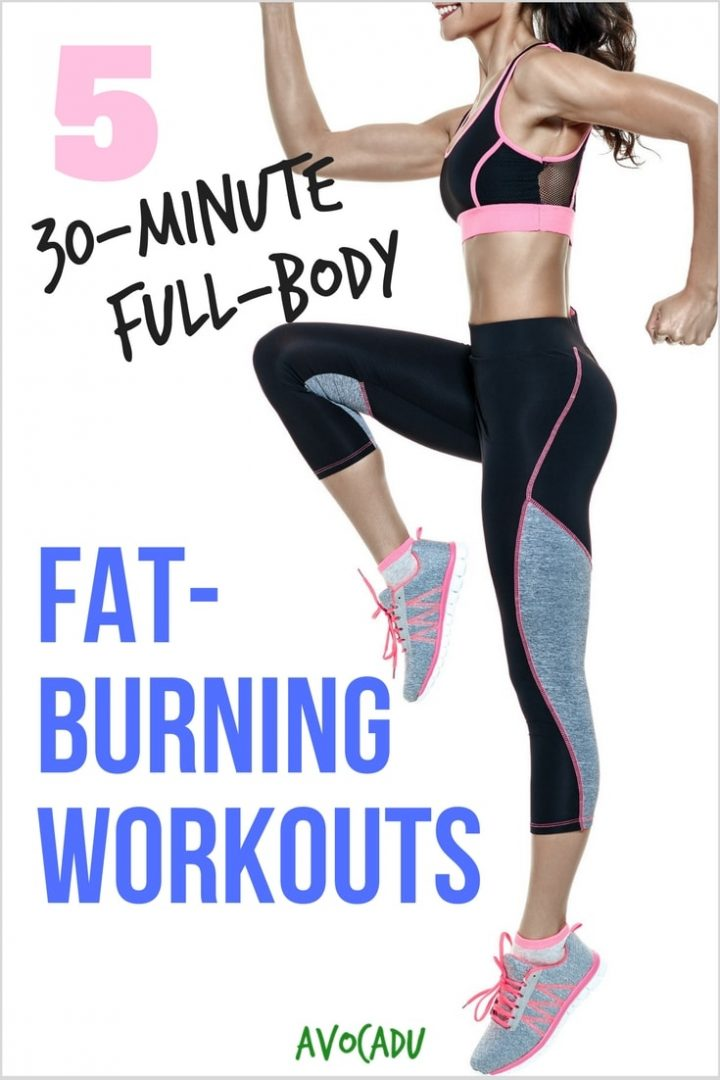 30-Minute Full-Body Fat-Burning Workouts | Workout Plan to Lose Weight | Ab Exercises | Weight Loss Workouts | Avocadu.com