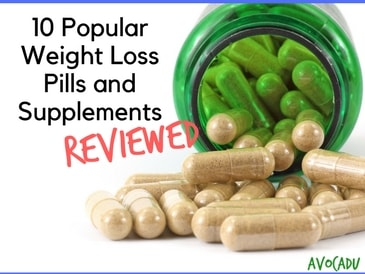 10 Popular Weight Loss Pills and Supplements Reviewed