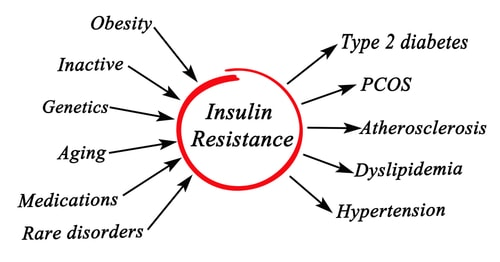 high insulin can cause weight gain