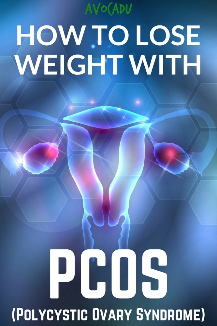 How to Lose Weight with PCOS - Polycystic Ovary Syndrome   Diet Plans for Women with PCOS   Avocadu.com