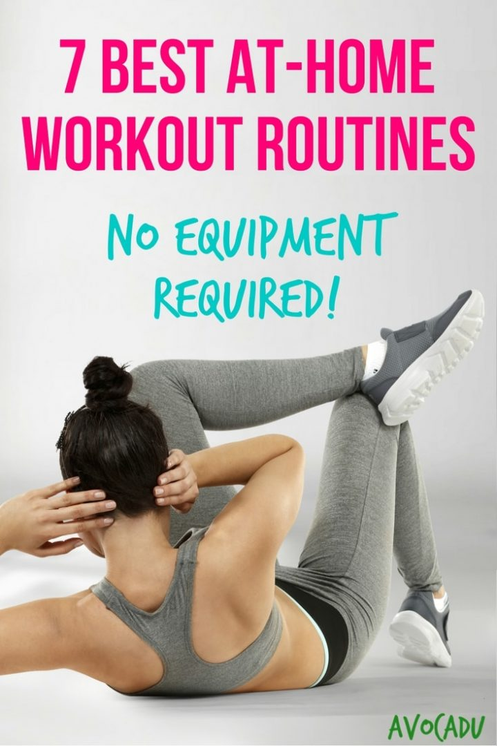 7 Best At-Home Workout Routines - No Equipment Required | Workout Plans to Lose Weight | Avocadu.com