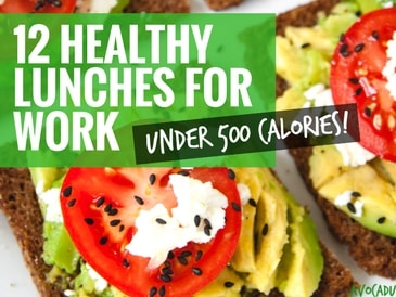 12 Healthy Lunches for Work Under 500 Calories