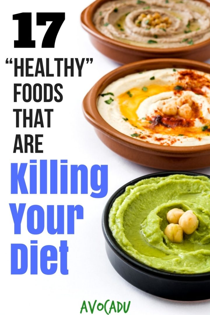 """These supposedly """"healthy"""" foods could actually be the main reason you are having trouble losing weight. Avoid these foods that are easy to overeat for fast weight loss 