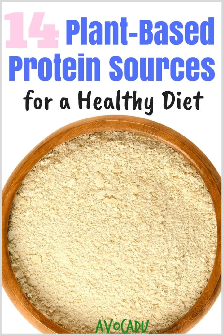 These plant-based protein sources will help you stay full in your healthy diet to aid in weight loss | #vegan #vegetarian #healthyweightloss