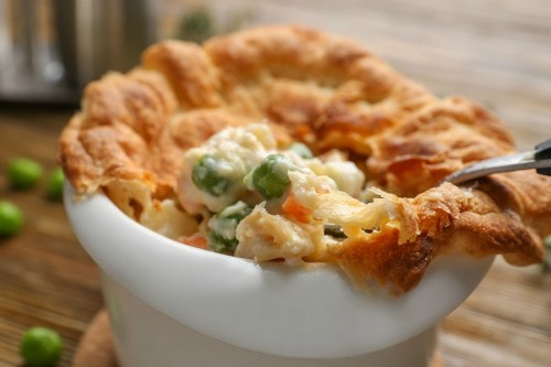 chicken pot pie paleo dinner recipe