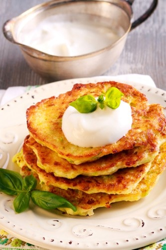 zucchini fritters paleo dinner recipe