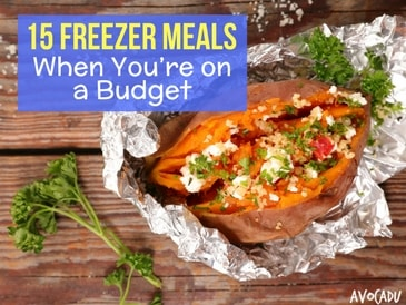 15 Freezer Meals When You're on a Budget
