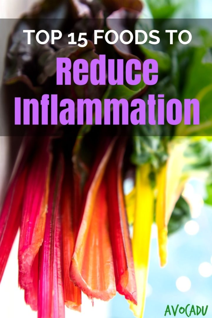 Got inflammation? Don't we all... It's caused by all kinds of things, some unavoidable, but these foods to reduce inflammation will certainly help! #healthyfood #avocadu