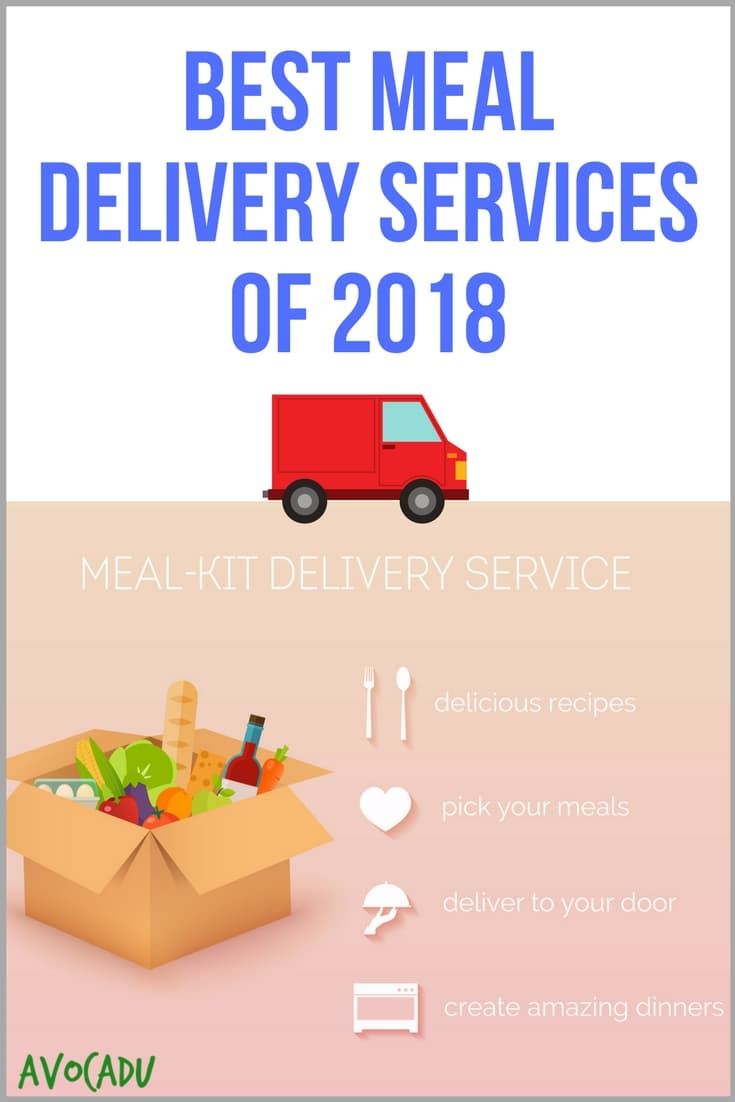 Best meal delivery services of 2018 for easy weeknight meals that are healthy and can help you lose weight! | Avocadu.com