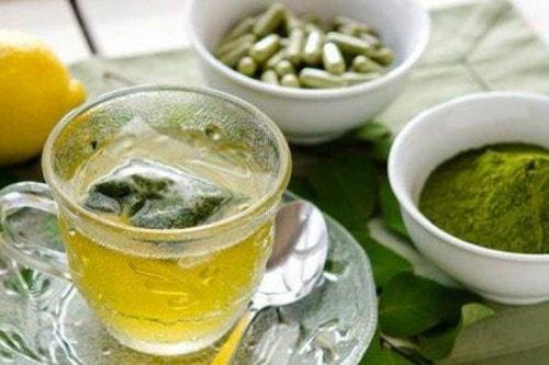moringa tea and supplements